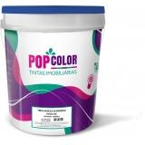 tinta acrílica a base de água 18 litros Cristalina