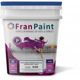 tinta colorida para parede externa 18 litros Marília