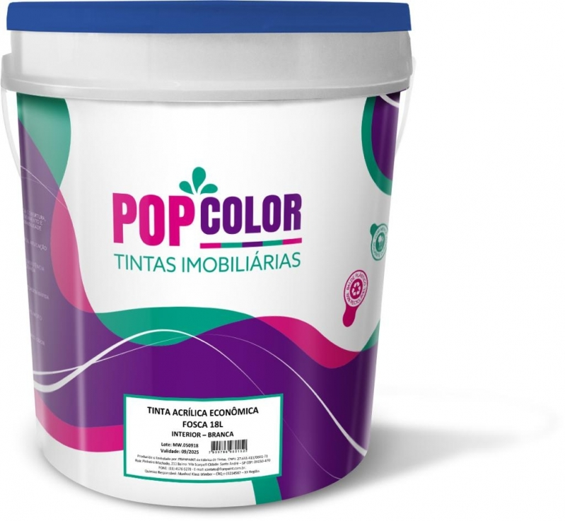 Tinta Pva Branca 3 6l Menor Preço Santa Cruz do Sul - Tinta Latex 3 6 Litros