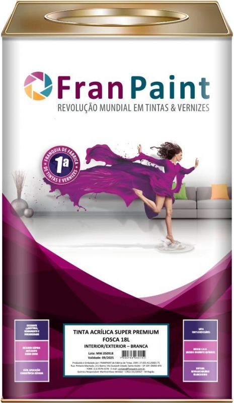 Tintas Colorida para Parede Grande Santa Maria - Tinta Colorida para Parede Grande